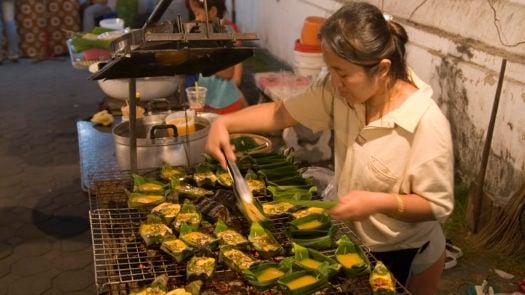 Street food vendor, Thailand