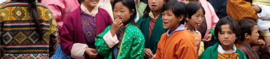 Traditional Dress Bumthang Bhutan