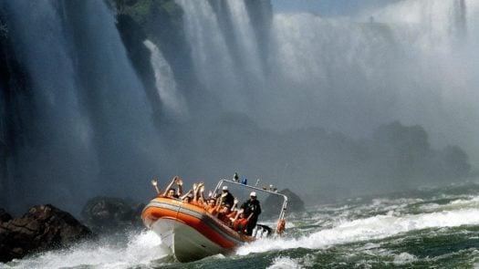 Boat Iguassu Falls