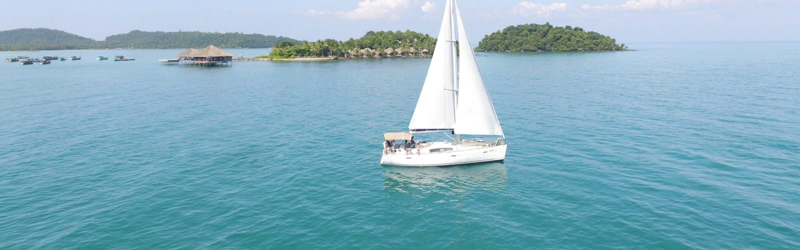 Sailing Boat, Song Saa Private Island Resort, Cambodia