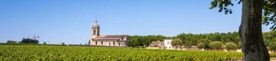 Vineyard Church Bordeaux France