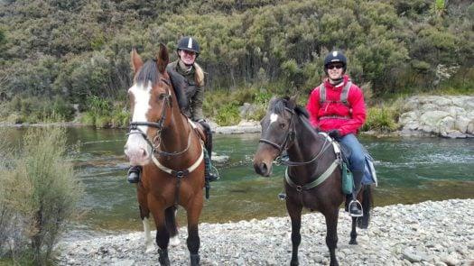 Horse riding, Poronui Lodge, Rotorua Taupo, New Zealand