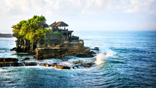 Bali Water Temple - Tanah Lot