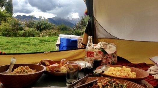 Picnic Sacred Valley Peru
