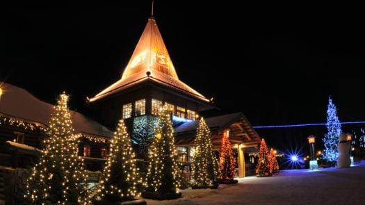 Rovaniemi, Finnish Lapland, Christmas