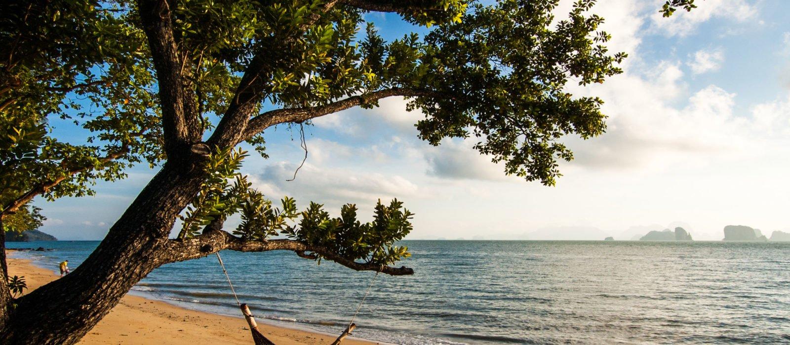 Hammock on the beach, Koh Yao Noi