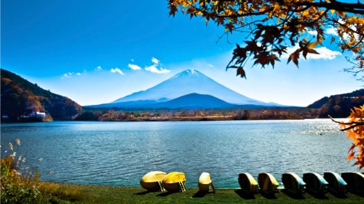 Lake Ashinoko, Hakone, Japan