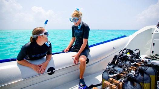 Scuba diving Mnemba Island Lodge, Zanzibar, Africa