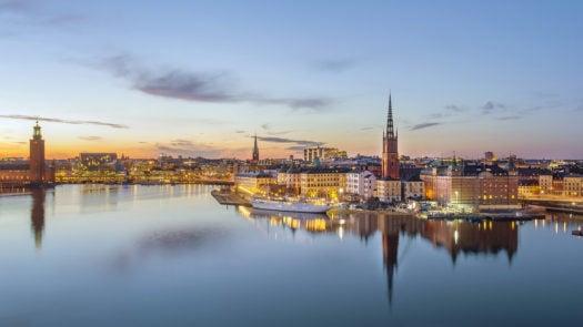 stockholm-sunset