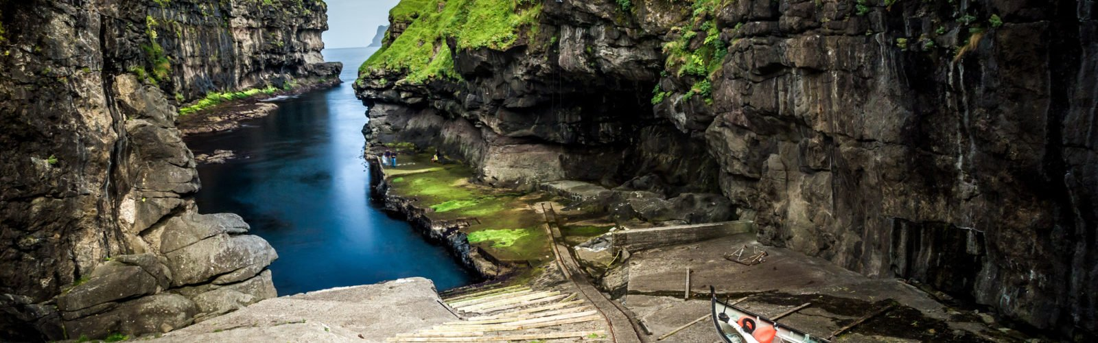 gjogv-boat-faroe-islands-denmark