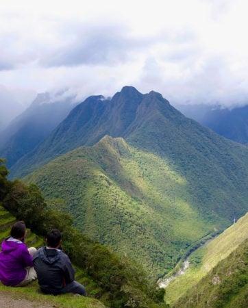 A walk along the Inca Trail Peru