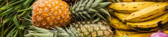 Fresh fruit in Colombia