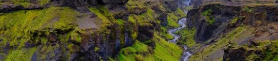 Thorsmork Canyon, Southern Iceland