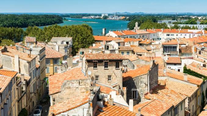 Arles-aerial