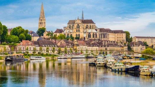 auxerre-town-burgundy-france