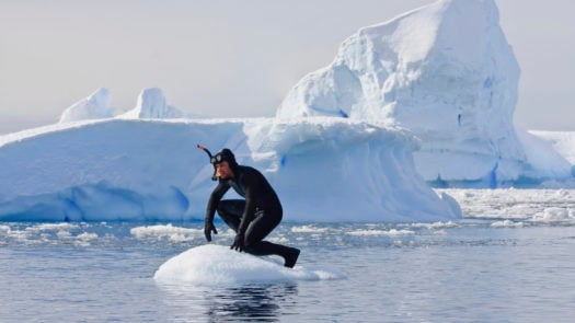 Scuba diving, Antarctica