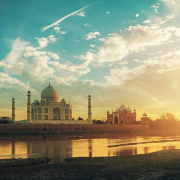 taj-mahal-agra-india-sunset