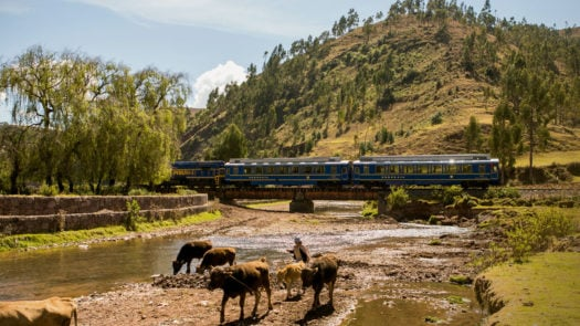 Vistadome Train, Peru