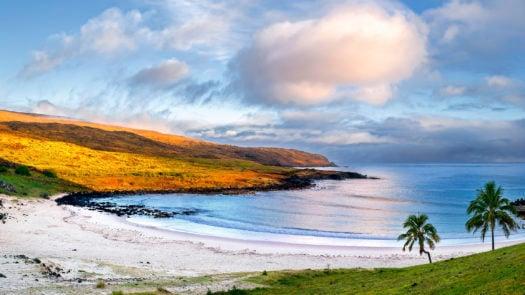 Anakena Beach, Easter Island/Rapa Nui, Chile