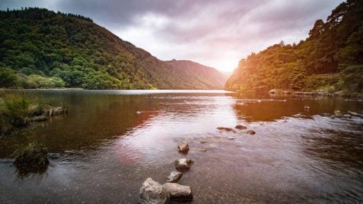 lake-view-glendalough-ireland