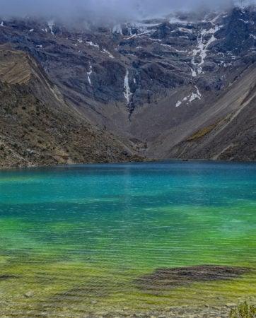 Salkantay Trail, Humantay Lagoon, Peru