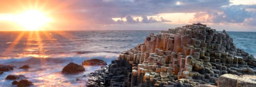 sunset-giants-causeway-ireland