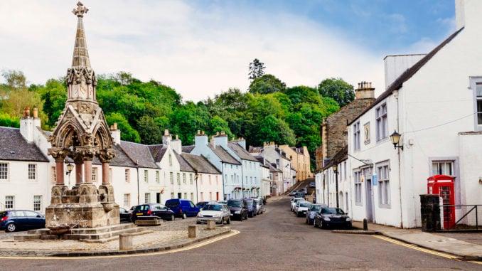 dunkeld-village-perthshire-scotland