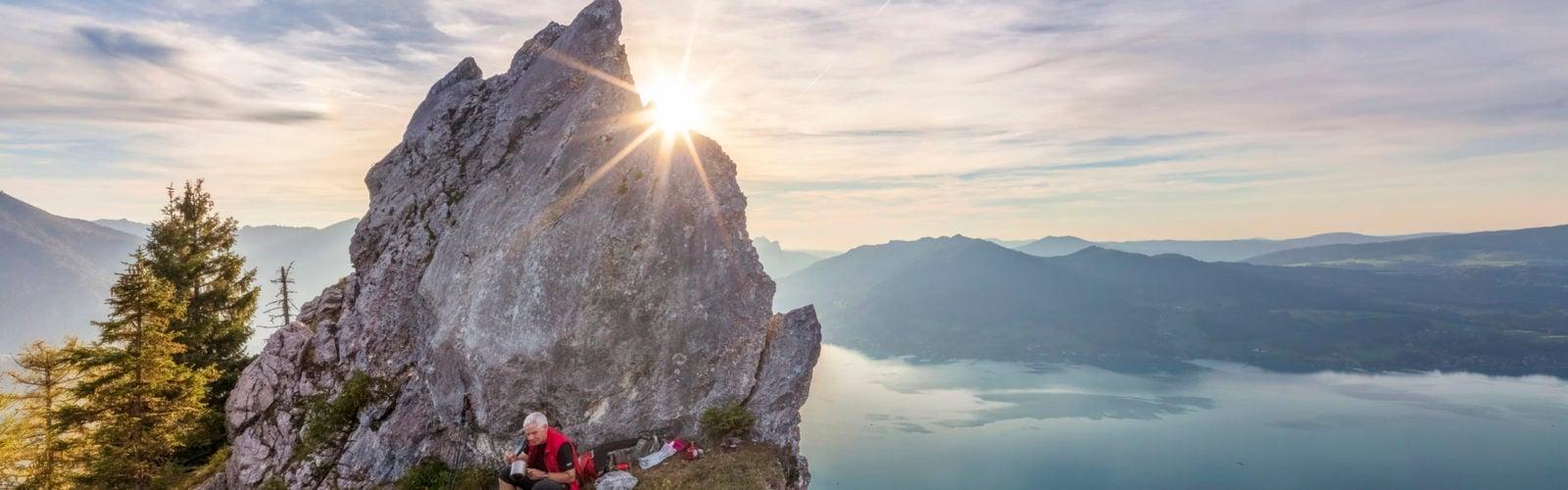 wolfgang-lake-hiker-austria