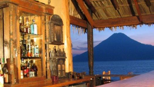 Bar, Laguna Lodge, Lake Atitlan, Guatemala