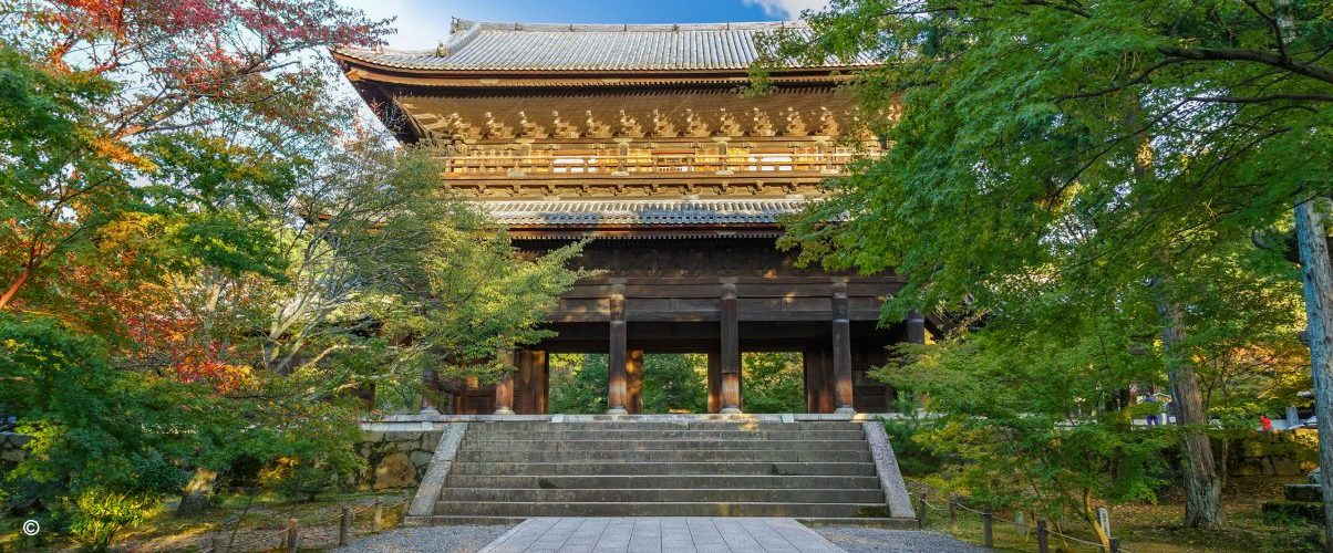 Temples in Kyoto Japan